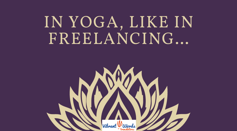 Lessons from yoga for happy freelancers