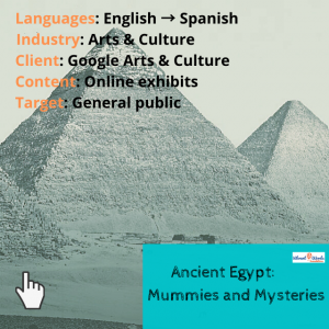 Ancient Egypt on Google Arts and Culture