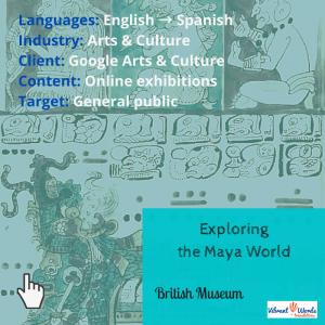 Exploring the maya world