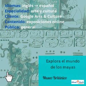 Explora el mundo de los mayas