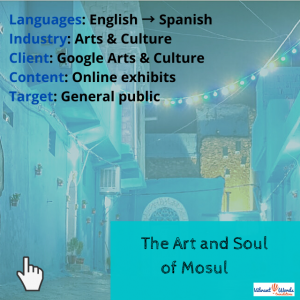 The art and soul of Mosul