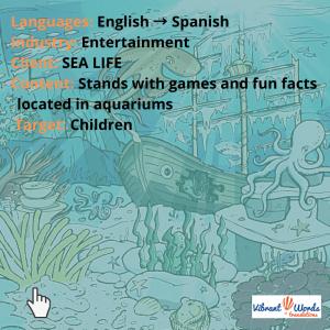 Sea life aquariums