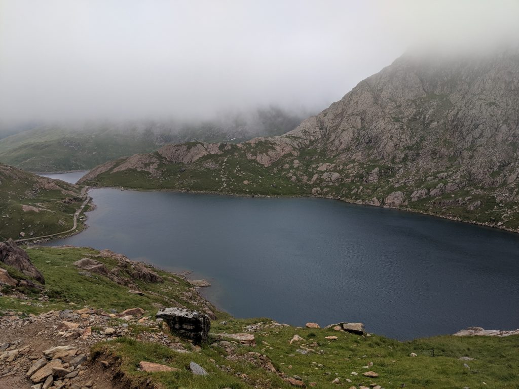 Tarn in Snowdonia Wales_3 lessons from hiking